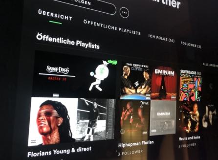 Flötschman - Spotify Playlist